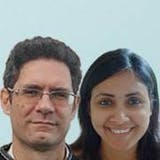 Paul Steele and Neha Rai