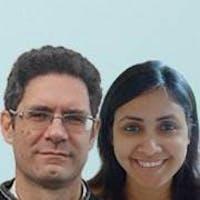 Paul Steele and Neha Rai